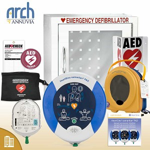 HeartSine samaritan PAD 450P AED Corporate Value Package