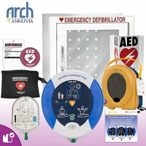 HeartSine samaritan PAD 450P AED Complete Value Package