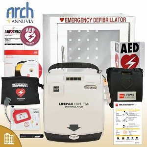 Physio-Control LIFEPAK EXPRESS AED Corporate Value Package