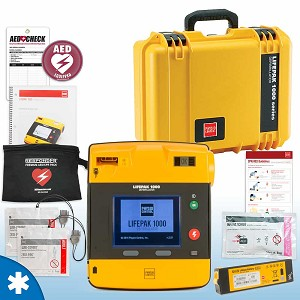Physio-Control LIFEPAK 1000 AED Mobile Responder Value Package